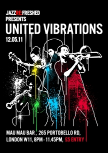 United Vibrations at Jazz refreshed