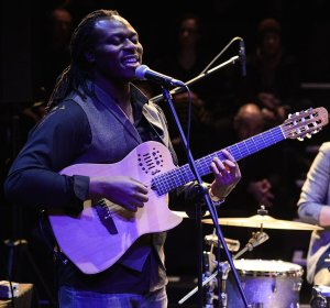 Femi Temowo performs for Jazz in the Round - 25/03/13