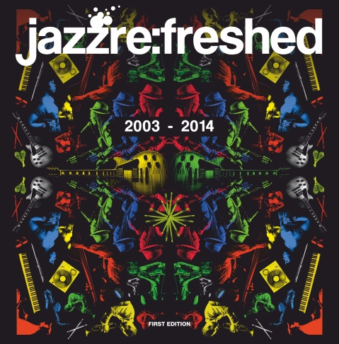 JAZZ REFRESHED SCRAPBOOK cover